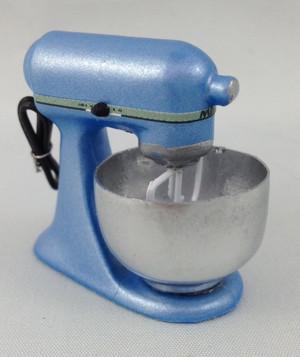 Light Blue Electric Mixer