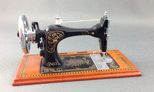 Back of sewing machine