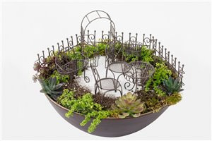 6 Pc. Wire Garden Set (Arbour)
