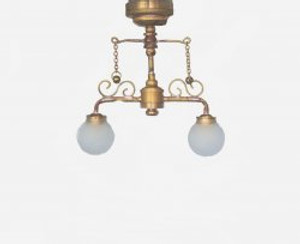 Delancy Street Cafe Dollhouse Lamp