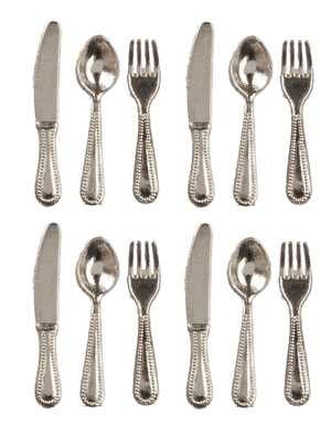 12 pc. Cutlery Set - Silver