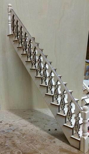 *Lancaster Straight Staircase Kit