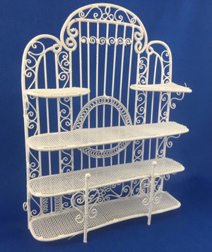 White Wire Rack