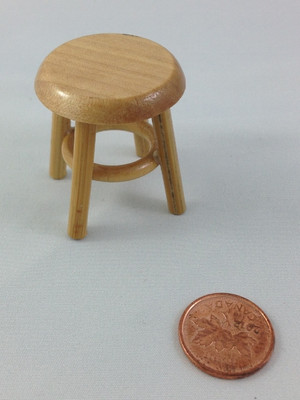 Unifinished Wood Stool