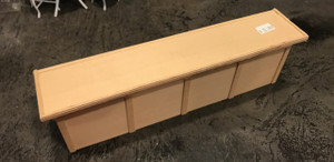 """Unfinished Wood Counter - 10 3/8"""""""