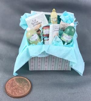 Fancy Box of Cosmetics