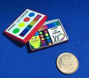 Mini Paint & Colour Kit
