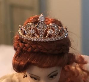 Elaborate Gold Jewelled Crown