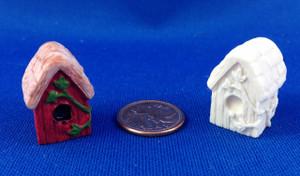 Unpainted Birdhouse