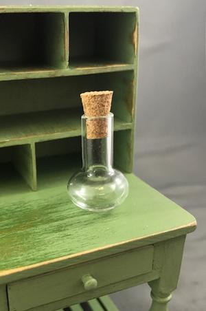 Round Bottom Glass Jar