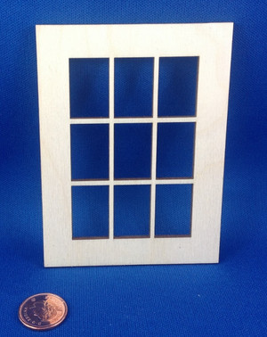 "9 Lite Window - 3""x4"""