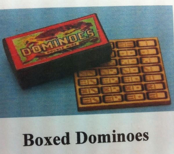 Boxed Dominoes Kit