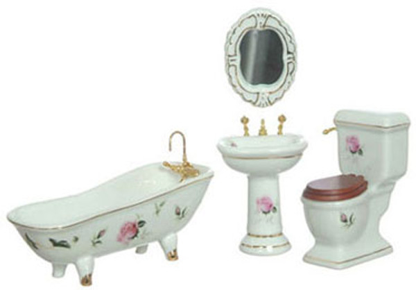 Porcelain Bathroom Set