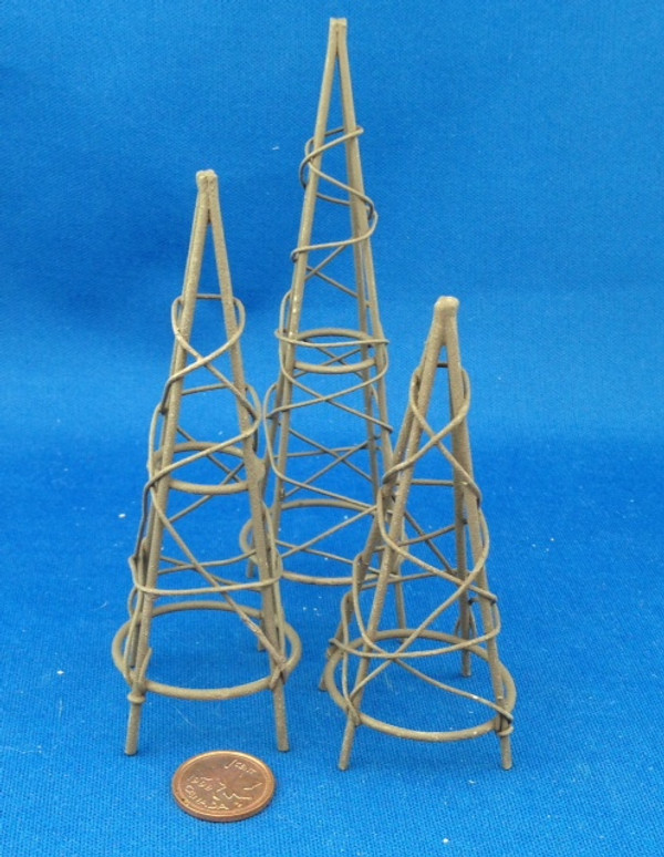 Garden Obelisks - Set of 3