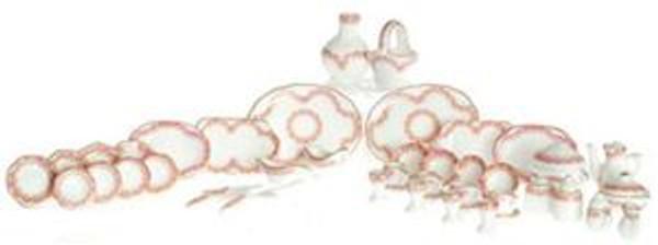 50 pc. Porcelain Dish Set