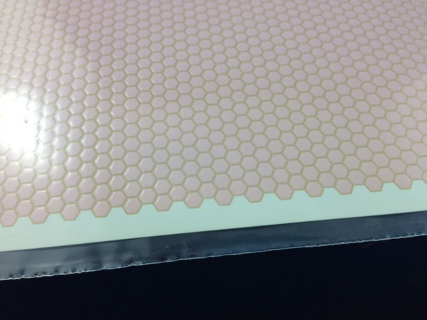 Pink Small Scale Flooring - Hexagon