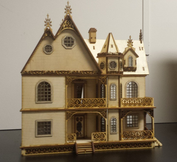 Jasmine Gothic Victorian Dollhouse Quarter / 1:48 scale Kit