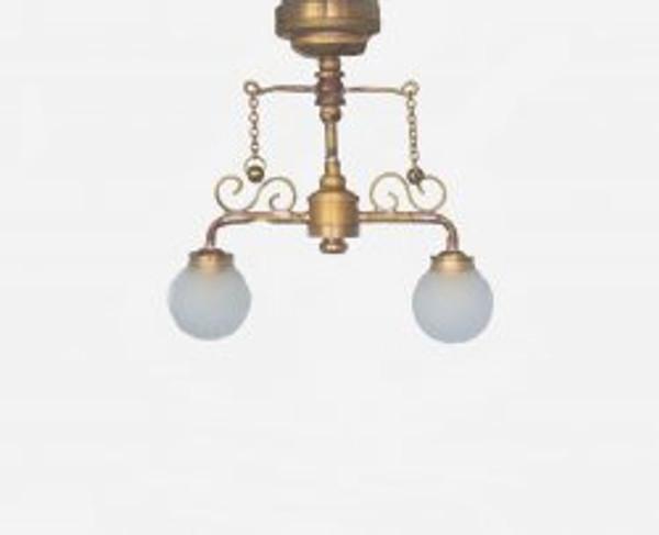 Delancy Street Cafe Dollhouse Lamp