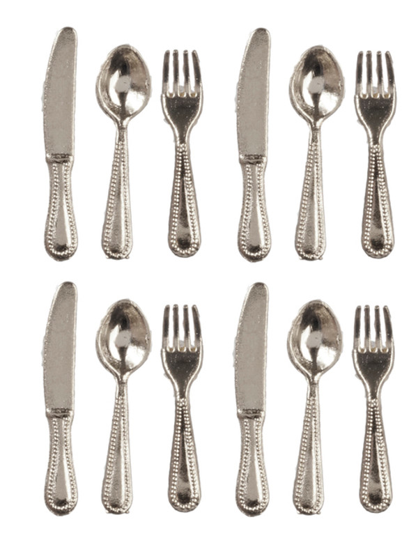 12 pc. Cutlery Set - Silver