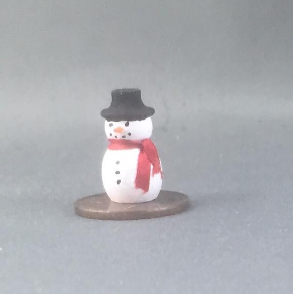 Handpainted Tiny Snowman