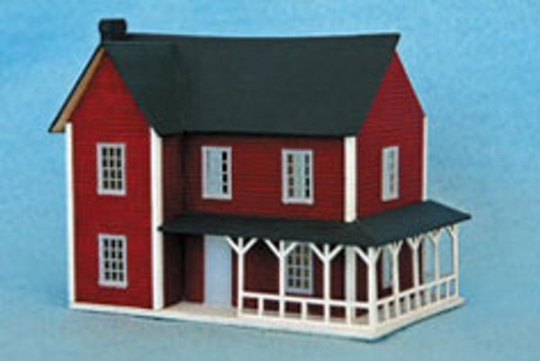 1/144 Scale Farmhouse Kit