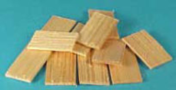 1/24 Scale Square Shingles - 400 pcs.