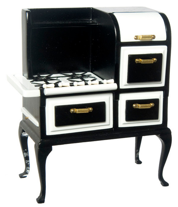 Black 1920's Cook Stove