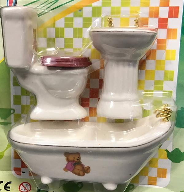 Bathroom Set - Teddy Bear Design