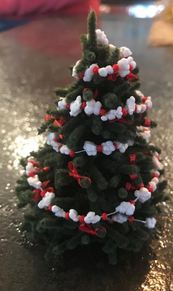Handmade Pre-decorated Christmas Tree