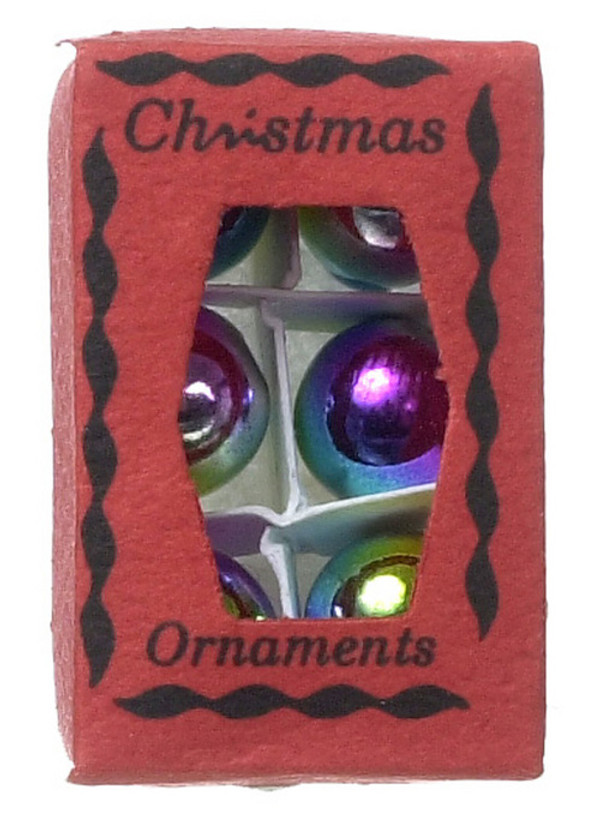 Boxed Christmas Ornaments