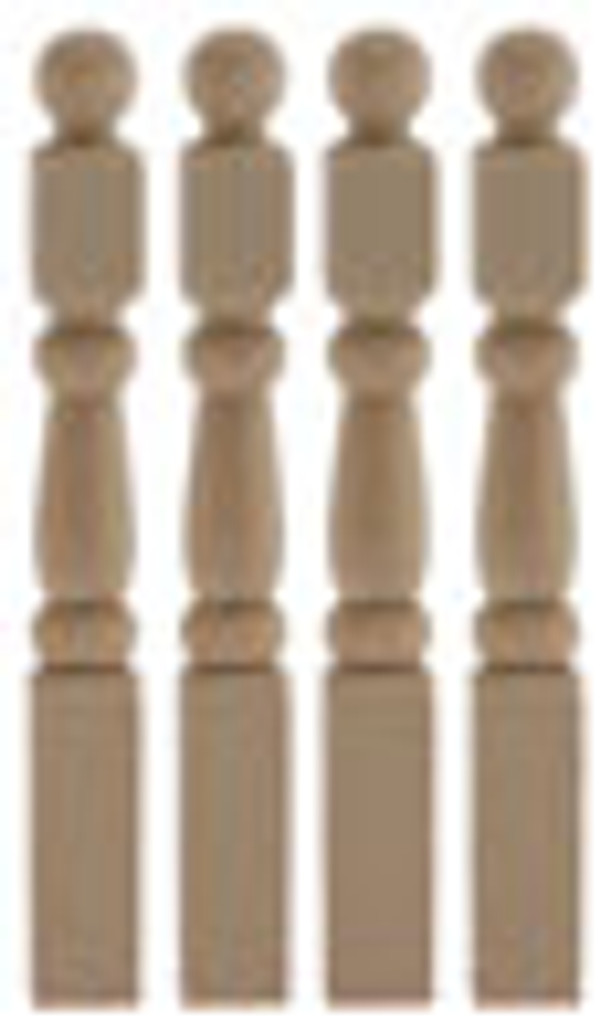 Newel Posts - Pkg of 4
