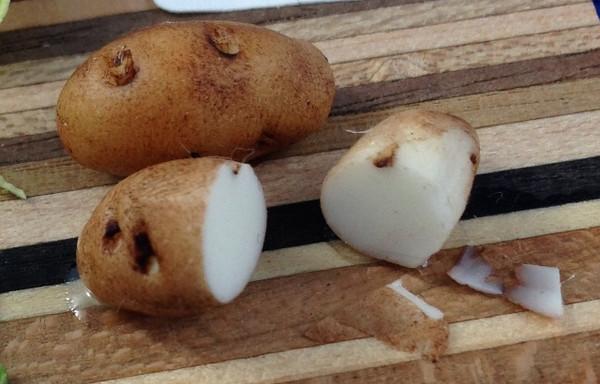 Sliceable Potato