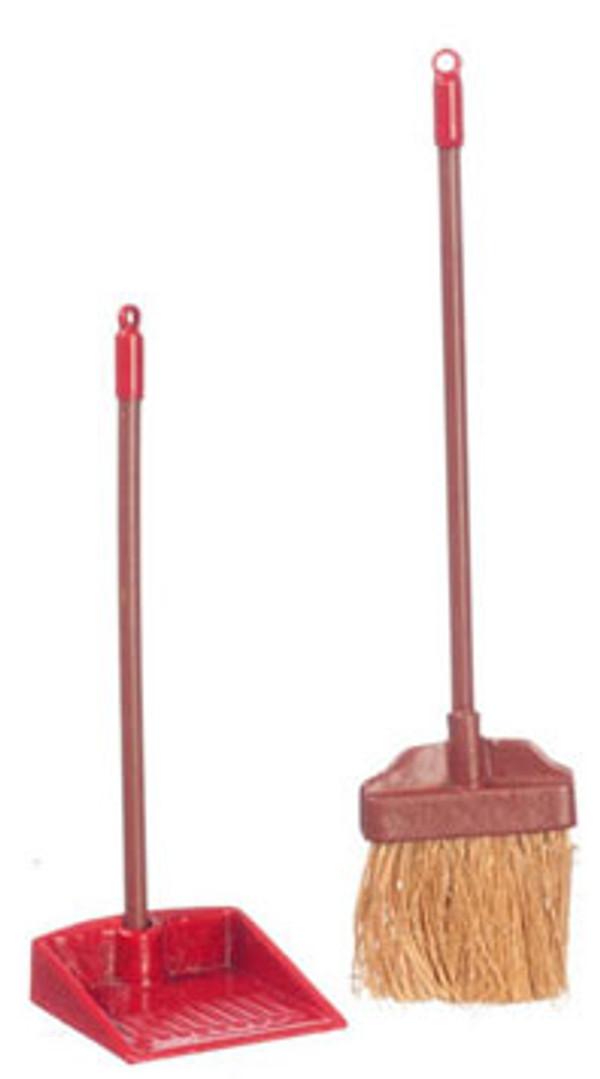 Broom & Dust Pan Set