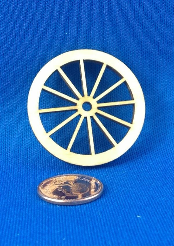 "1 1/2"" Wooden Wheel"