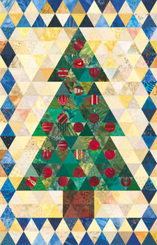Advent Tree Paper Pieced Quilt Pattern