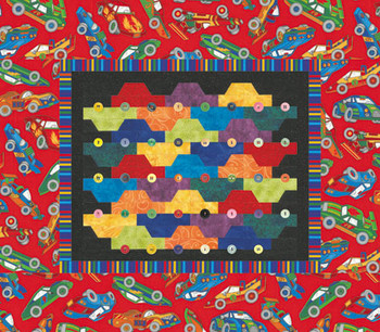 Rush Hour Paper Pieced Quilt Pattern