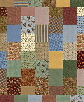 Gulf Coast Heritage Paper Pieced Quilt Pattern