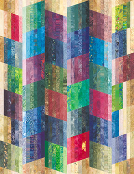 Falling Water Paper Pieced Quilt Pattern