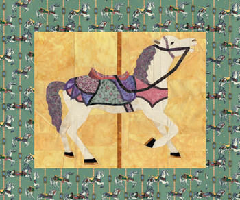 Magic of the Carousel Paper Pieced Quilt Pattern