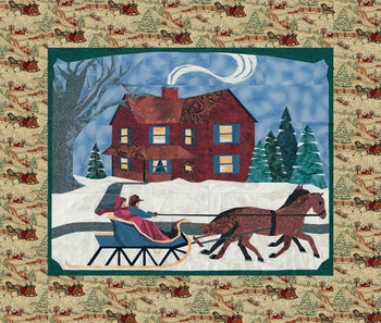 Holiday With Family Paper Pieced Quilt Pattern