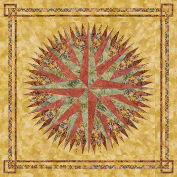 Song of the Earth Paper Pieced Quilt Pattern