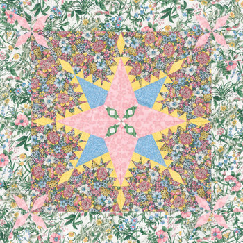 Fairy's Fete Paper Pieced Quilt Pattern