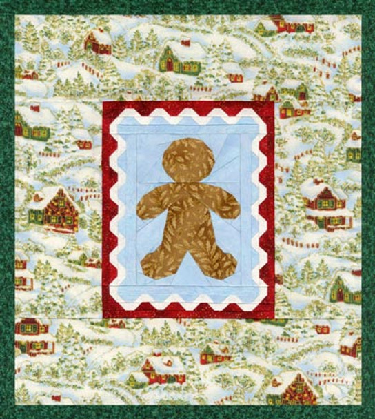 Gingerbread Hill Paper Pieced Quilt Pattern