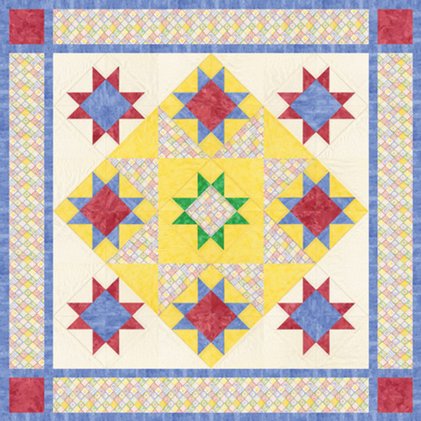 A Star is Born Paper Pieced Quilt Pattern
