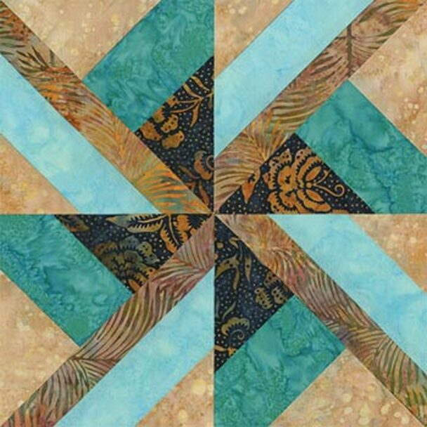 Chief Seattle Paper Pieced Quilt Block Pattern