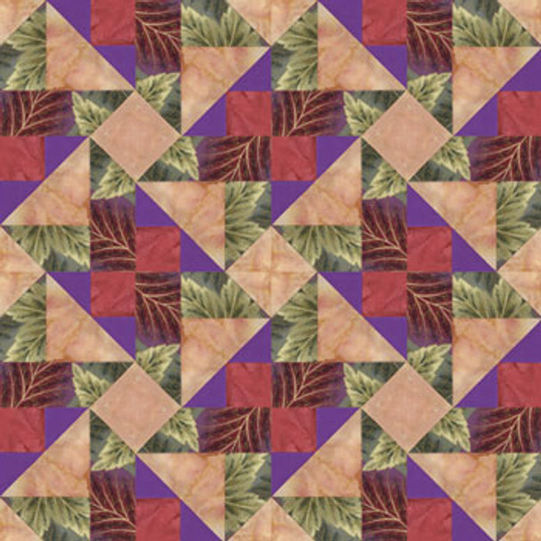 Chamber Music Rondo Paper Pieced Quilt Block Pattern