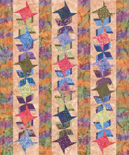 Tropical Breeze Paper Pieced Quilt Pattern