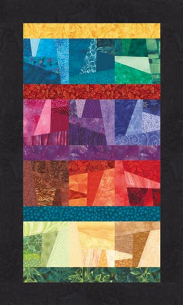 Refractions Paper Pieced Quilt Pattern