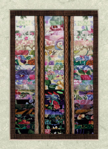 Watercolor Window Paper Pieced Quilt Pattern