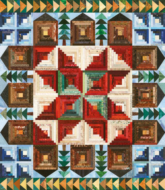 Barnstable Common Paper Pieced Quilt Pattern